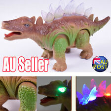 Light Up Dinosaur Remote Control Walking Robot Roaring Interactive Toy Gift MN