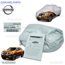 Genuine Silver Polyester Car Cover For Nissan Navara Np300 4Dr D23 2015 2016