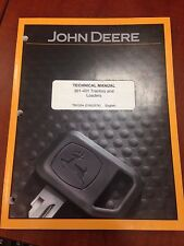 John Deere Technical Manual 301-401 Tractors & Loaders (Used)