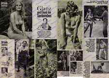 or. Fotobericht Ursula Andress Erotik James Bond Ostermundigen Familie Bern 1965