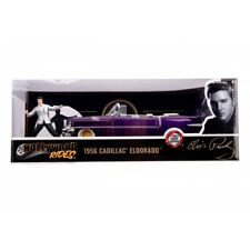 Elvis Presley 1:24 1956 Cadillac Eldorado Diecast plus Figurine - Jada Toys