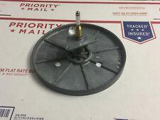 MGA MITSUBISHI LT 640 TURNTABLE PARTS - Flywheel & Centre Shaft