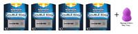 Wilkinson Double Edge Stainless Steel Razor Blades 10 ct (4 Pk) + Makeup Sponge