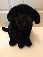 """BIG ANIMAL ALLEY BLACK LAB DOG PLUSH STUFFED TOY R US 27"""" VERY CUTE"""