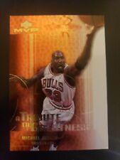 2003-04 Upper Deck MVP Tribute to Greatness #MJ1 Michael Jordan