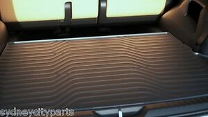 TOYOTA FORTUNER CARGO MAT RUBBER FROM AUG 15> NEW GENUINE GX GXL CRUSADE