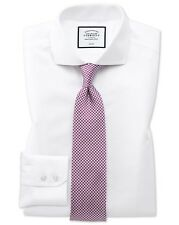 Charles Tyrwhitt Formal Non Iron Twill Shirt Size 15