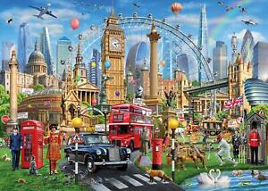 Gibsons London Calling Jigsaw Puzzle (1000 Pieces)