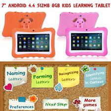"7 "" Tablet per bambini Android 4.4 WIFI Camera Learning per Ragazzi"
