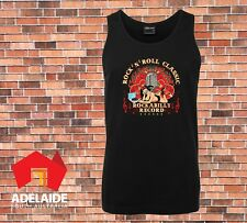 JB's Singlet Rock N Roll Classic Rockabilly Record Cool Retro New Design