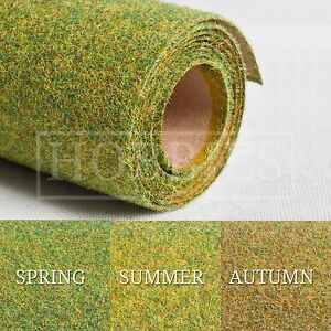 "Hairy Grass Landscape Mat Roll 48"" x 24"" Javis Wargame 00 N Gauge Model Railways"