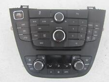 12-13 BUICK REGAL Turbo Radio Navigation Climate Control Panel 2094219613297381