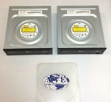 LG MODISC GH24NS95 SUPER MULTI DVD WRITER SATA DRIVE LOT OF 2
