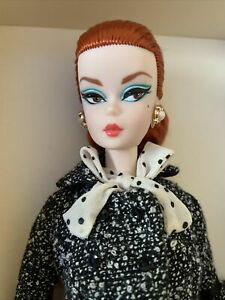 Black and White Tweed Suit Silkstone Barbie Doll #DWF54 NRFB Gold Label