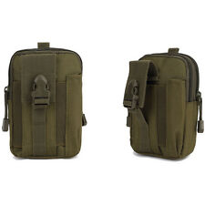 Tactical Molle Pouch Belt Waist Pack Bag Military Waist Fanny Pack Phone Pocket