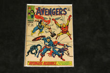 THE AVENGERS 58 VISION JOINS TEAM & ORIGIN 1968 BLACK PANTHER THOR WASP LOT 4 57