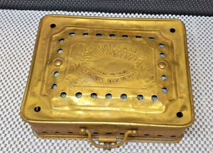 Antique Stove Or Heating Flat the Timid Brass Warmer cavaille Paris