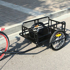 Erfect Bicycle Cargo Trailer Utility Luggage Bike Trailer (Black)