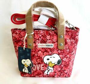 Cath Kidston Snoopy Pink Love Brampton Bag Peanuts Cross Body Acrossbody Handbag