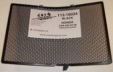 Cox Racing Rad Guard Black For Honda CBR600RR CBR 600 Carbon Fiber 2003-2006