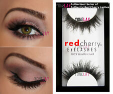 1 Pair AUTHENTIC RED CHERRY #605 Berkeley Human Hair Lashes False Eyelashes Lash