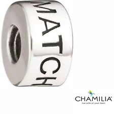 Genuine Chamilia silver cham 925 Be The match bracelet charm bead 2020-0642