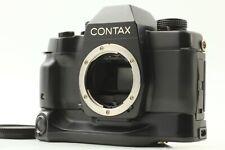 Eccellente +++++ Contax ST Film Slr Corpo Della Fotocamera Con Supporto Batteria dal Giappone