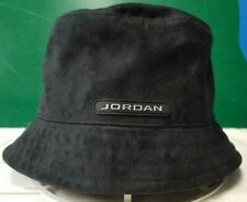 584dcdcb0e4 Air Jordan bucket hat sz M/L black/silver