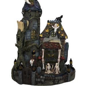 Costco Halloween Haunted House Large Lights Sounds Skeleton Animated Display