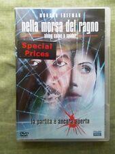 FILM DVD NELLA MORSA DEL RAGNO - ALONG CAME A SPIDER con MORGAN FREEMAN
