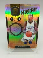 Kevin Durant 100/299 Gold Standard 2011 Gold Mining #19 OKC Thunder