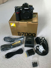 Nikon D7000 DSLR camera (16.2MP) boxed with extras + new strap