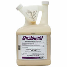 Onslaught Insecticide 1GL Bed Bugs Cockroaches Stink Bugs Fleas Ticks Mosquitoes
