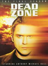 The Dead Zone Complete Sixth Season 6 Six DVD Set TV Series Anthony Michael Hall