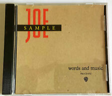 Joe Sample...... Words And Music   Promo CD The Ashes To Ashes Interview