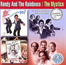 Randy & The Rainbows  The Mystics : CMon Lets Go  Crazy For You CD