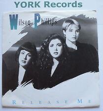 "WILSON PHILLIPS - Release Me - Excellent Condition 7"" Single SBK 11"