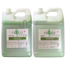Capilo Pro Olive Oil (Aceite De Oliva) Shampoo & Rinse 2.8gal SET w/FreeNailFile