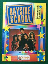 ALBUM Figurine Sticker BAYSIDE SCHOOL , Ed. Merlin 1994 COMPLETO !!! MB