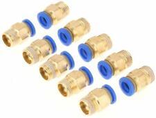 sourcingmap/® 8mm a 6mm aria pneumatica della tubazione di raccordo rapido attacco adattatore connettore 10pz