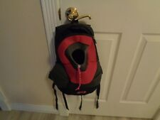 """Paws Crazy Pet Backpack Small Black/Pink 14"""" H x 11"""" W x 5"""" D"""