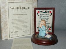 Willitts Amish Heritage First Edition 1993 ~Caroline'S Bedtime Prayer~ Signed