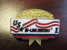 U.S. In-Line Skating Sports Federation 1996 Go For The Gold Pin