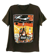 Weezer Join the Alliance T-Shirt Tee Star Wars Parody Rare 2014 Brown Large L