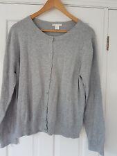 H&M grey cardigan size L