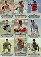 2014 Topps Tribute Baseball Base or Blue /99 You Pick Pick Finish Your Set