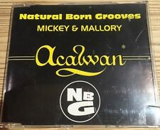 Natural Born Grooves - Mickey & Mallory - Near Mint CD Single 3tr- FAST UK POST
