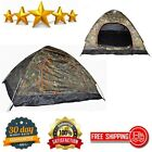 Waterproof Instant Pop Up Camping Tent 3-4 Person Outdoor Hiking Hunting Camo