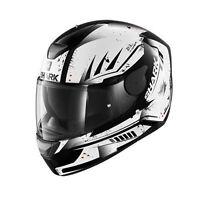 Helmet Shark D-Skwal Dharkov white moto casque integral helm XS S M L XL
