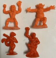 Arco vintage Dragon N Monsters 4 figures fantasy toy soldiers plastic 1980s lot